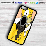 Homer The Simpsons iPhone 4/4S 5 S/C/SE 6/6S Plus 7| Samsung Galaxy S4 S5 S6 S7 NOTE 3 4 5| LG G2 G3 G4| MOTOROLA MOTO X X2 NEXUS 6| SONY Z3 Z4 MINI| HTC ONE X M7 M8 M9 M8 MINI CASE