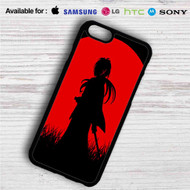 Red Moon Samurai X Rurouni Kenshin iPhone 4/4S 5 S/C/SE 6/6S Plus 7| Samsung Galaxy S4 S5 S6 S7 NOTE 3 4 5| LG G2 G3 G4| MOTOROLA MOTO X X2 NEXUS 6| SONY Z3 Z4 MINI| HTC ONE X M7 M8 M9 M8 MINI CASE