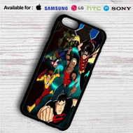 The Team Young Justice iPhone 4/4S 5 S/C/SE 6/6S Plus 7| Samsung Galaxy S4 S5 S6 S7 NOTE 3 4 5| LG G2 G3 G4| MOTOROLA MOTO X X2 NEXUS 6| SONY Z3 Z4 MINI| HTC ONE X M7 M8 M9 M8 MINI CASE