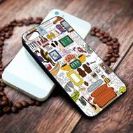 Collage central park Iphone 4 4s 5 5s 5c 6 6plus 7 case / cases