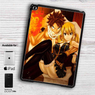 "Fairy Tail Natsu Dragneel and Lucy Heartfilia iPad 2 3 4 iPad Mini 1 2 3 4 iPad Air 1 2 | Samsung Galaxy Tab 10.1"" Tab 2 7"" Tab 3 7"" Tab 3 8"" Tab 4 7"" Case"