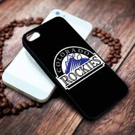 Colorado Rockies  2 Iphone 4 4s 5 5s 5c 6 6plus 7 case / cases