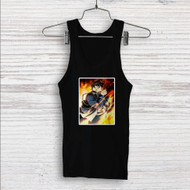 Roy Mustang Fullmetal Alchemist Brotherhood Custom Men Woman Tank Top T Shirt Shirt