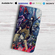 Akame ga Kill Custom Leather Wallet iPhone 4/4S 5S/C 6/6S Plus 7| Samsung Galaxy S4 S5 S6 S7 Note 3 4 5| LG G2 G3 G4| Motorola Moto X X2 Nexus 6| Sony Z3 Z4 Mini| HTC ONE X M7 M8 M9 Case
