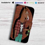Bojack Horseman Custom Leather Wallet iPhone 4/4S 5S/C 6/6S Plus 7| Samsung Galaxy S4 S5 S6 S7 Note 3 4 5| LG G2 G3 G4| Motorola Moto X X2 Nexus 6| Sony Z3 Z4 Mini| HTC ONE X M7 M8 M9 Case
