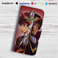 Code Geass Hangyaku no Lelouch Custom Leather Wallet iPhone 4/4S 5S/C 6/6S Plus 7| Samsung Galaxy S4 S5 S6 S7 Note 3 4 5| LG G2 G3 G4| Motorola Moto X X2 Nexus 6| Sony Z3 Z4 Mini| HTC ONE X M7 M8 M9 Case