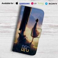 Disney The BFG Custom Leather Wallet iPhone 4/4S 5S/C 6/6S Plus 7| Samsung Galaxy S4 S5 S6 S7 Note 3 4 5| LG G2 G3 G4| Motorola Moto X X2 Nexus 6| Sony Z3 Z4 Mini| HTC ONE X M7 M8 M9 Case