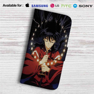 Inuyasha Custom Leather Wallet iPhone 4/4S 5S/C 6/6S Plus 7| Samsung Galaxy S4 S5 S6 S7 Note 3 4 5| LG G2 G3 G4| Motorola Moto X X2 Nexus 6| Sony Z3 Z4 Mini| HTC ONE X M7 M8 M9 Case