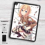 "Historia Reiss Shingeki no Kyojin Attack on Titan iPad 2 3 4 iPad Mini 1 2 3 4 iPad Air 1 2 | Samsung Galaxy Tab 10.1"" Tab 2 7"" Tab 3 7"" Tab 3 8"" Tab 4 7"" Case"
