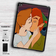 "Peter Pan and Wendy Kiss Disney iPad 2 3 4 iPad Mini 1 2 3 4 iPad Air 1 2 | Samsung Galaxy Tab 10.1"" Tab 2 7"" Tab 3 7"" Tab 3 8"" Tab 4 7"" Case"