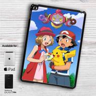 "Pokemon Ash Pikachu iPad 2 3 4 iPad Mini 1 2 3 4 iPad Air 1 2 | Samsung Galaxy Tab 10.1"" Tab 2 7"" Tab 3 7"" Tab 3 8"" Tab 4 7"" Case"
