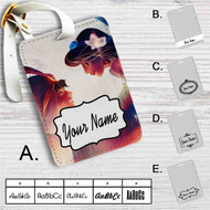 Aladdin and Jasmine Disney Custom Leather Luggage Tag