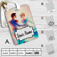 Aurora and Phillip Disney Custom Leather Luggage Tag