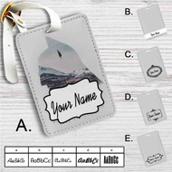 Batman Vs Superman Custom Leather Luggage Tag