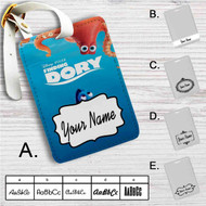 Finding Dory Disney Custom Leather Luggage Tag
