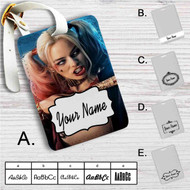 Harley Quinn Suicide Squad Movie Custom Leather Luggage Tag