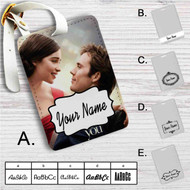 Me Before You Custom Leather Luggage Tag