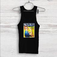 Hillary Clinton 2016 We Can Do It Custom Men Woman Tank Top T Shirt Shirt