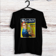 Hillary Clinton 2016 We Can Do It Custom T Shirt Tank Top Men and Woman