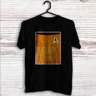 Star Trek Spock and Captain Kirk Quotes Custom T Shirt Tank Top Men and Woman