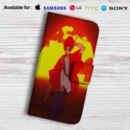 Samurai Champloo Custom Leather Wallet iPhone 4/4S 5S/C 6/6S Plus 7| Samsung Galaxy S4 S5 S6 S7 Note 3 4 5| LG G2 G3 G4| Motorola Moto X X2 Nexus 6| Sony Z3 Z4 Mini| HTC ONE X M7 M8 M9 Case