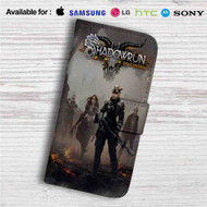 Shadowrun Returns Dragonfall Custom Leather Wallet iPhone 4/4S 5S/C 6/6S Plus 7| Samsung Galaxy S4 S5 S6 S7 Note 3 4 5| LG G2 G3 G4| Motorola Moto X X2 Nexus 6| Sony Z3 Z4 Mini| HTC ONE X M7 M8 M9 Case