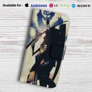 Soul Eater Death The Kid Custom Leather Wallet iPhone 4/4S 5S/C 6/6S Plus 7  Samsung Galaxy S4 S5 S6 S7 Note 3 4 5  LG G2 G3 G4  Motorola Moto X X2 Nexus 6  Sony Z3 Z4 Mini  HTC ONE X M7 M8 M9 Case