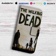 Walking Dead The Game Custom Leather Wallet iPhone 4/4S 5S/C 6/6S Plus 7| Samsung Galaxy S4 S5 S6 S7 Note 3 4 5| LG G2 G3 G4| Motorola Moto X X2 Nexus 6| Sony Z3 Z4 Mini| HTC ONE X M7 M8 M9 Case