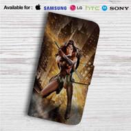 Batman v Superman - Wonder Woman Custom Leather Wallet iPhone 4/4S 5S/C 6/6S Plus 7| Samsung Galaxy S4 S5 S6 S7 Note 3 4 5| LG G2 G3 G4| Motorola Moto X X2 Nexus 6| Sony Z3 Z4 Mini| HTC ONE X M7 M8 M9 Case