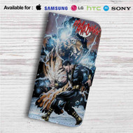 Black Adam Custom Leather Wallet iPhone 4/4S 5S/C 6/6S Plus 7| Samsung Galaxy S4 S5 S6 S7 Note 3 4 5| LG G2 G3 G4| Motorola Moto X X2 Nexus 6| Sony Z3 Z4 Mini| HTC ONE X M7 M8 M9 Case