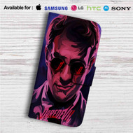 Daredevil Series Custom Leather Wallet iPhone 4/4S 5S/C 6/6S Plus 7| Samsung Galaxy S4 S5 S6 S7 Note 3 4 5| LG G2 G3 G4| Motorola Moto X X2 Nexus 6| Sony Z3 Z4 Mini| HTC ONE X M7 M8 M9 Case