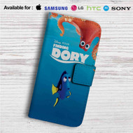Finding Dory Disney Custom Leather Wallet iPhone 4/4S 5S/C 6/6S Plus 7| Samsung Galaxy S4 S5 S6 S7 Note 3 4 5| LG G2 G3 G4| Motorola Moto X X2 Nexus 6| Sony Z3 Z4 Mini| HTC ONE X M7 M8 M9 Case