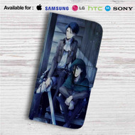 Levi and Eren Attack On Titan Custom Leather Wallet iPhone 4/4S 5S/C 6/6S Plus 7| Samsung Galaxy S4 S5 S6 S7 Note 3 4 5| LG G2 G3 G4| Motorola Moto X X2 Nexus 6| Sony Z3 Z4 Mini| HTC ONE X M7 M8 M9 Case