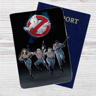 Ghostbusters Movie Custom Leather Passport Wallet Case Cover