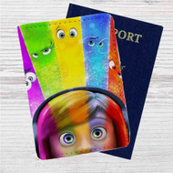 Inside Out Custom Leather Passport Wallet Case Cover