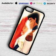 Kiss Ariel and Eric iPhone 4/4S 5 S/C/SE 6/6S Plus 7  Samsung Galaxy S4 S5 S6 S7 NOTE 3 4 5  LG G2 G3 G4  MOTOROLA MOTO X X2 NEXUS 6  SONY Z3 Z4 MINI  HTC ONE X M7 M8 M9 M8 MINI CASE