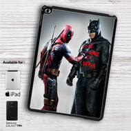 "Batman and Deadpool iPad 2 3 4 iPad Mini 1 2 3 4 iPad Air 1 2 | Samsung Galaxy Tab 10.1"" Tab 2 7"" Tab 3 7"" Tab 3 8"" Tab 4 7"" Case"