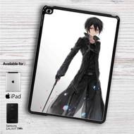 "Kirito Sword Art Online iPad 2 3 4 iPad Mini 1 2 3 4 iPad Air 1 2 | Samsung Galaxy Tab 10.1"" Tab 2 7"" Tab 3 7"" Tab 3 8"" Tab 4 7"" Case"