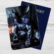 Batman Arkham City Custom Leather Passport Wallet Case Cover