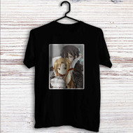 Asuna x Kirito Sword Art Online Custom T Shirt Tank Top Men and Woman