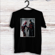 Batman and Deadpool Custom T Shirt Tank Top Men and Woman