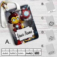 Astro Boy Iron Man Stark Industries Custom Leather Luggage Tag