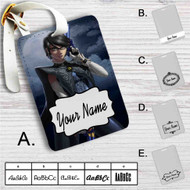 Bayonetta Custom Leather Luggage Tag
