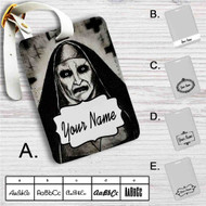 Demon Nun The Conjuring 2 Custom Leather Luggage Tag