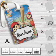 Earthbound Custom Leather Luggage Tag