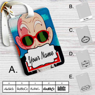 Master Muten Roshi Kame Custom Leather Luggage Tag