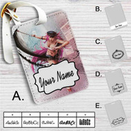 Poison Ultra Super Street Fighter IV Custom Leather Luggage Tag