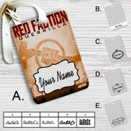 Red Faction Guerrilla Custom Leather Luggage Tag
