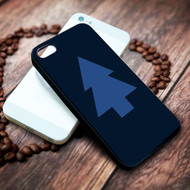 dipper pines hat tree gravity falls on your case iphone 4 4s 5 5s 5c 6 6plus 7 case / cases