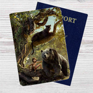 The Jungle Book Movie Custom Leather Passport Wallet Case Cover